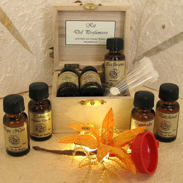 kit profumiere new - Perfumer's Kit - Custom Perfume