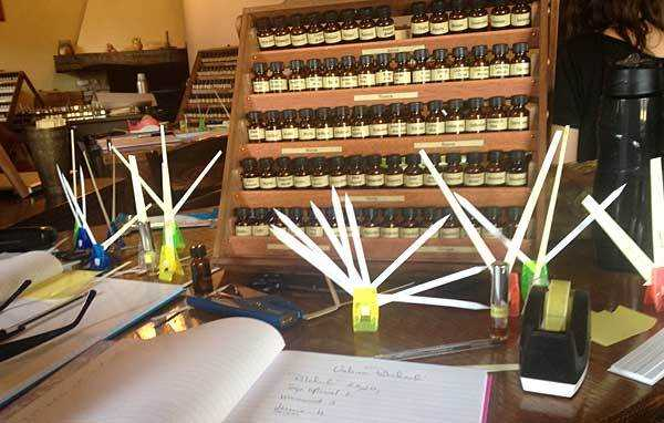perfume organ 1 - New Perfumery Seminar July 2015